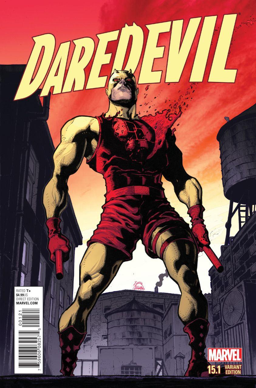 Daredevil Vol. 4 # 15.1 (Variant) by Ryan Stegman