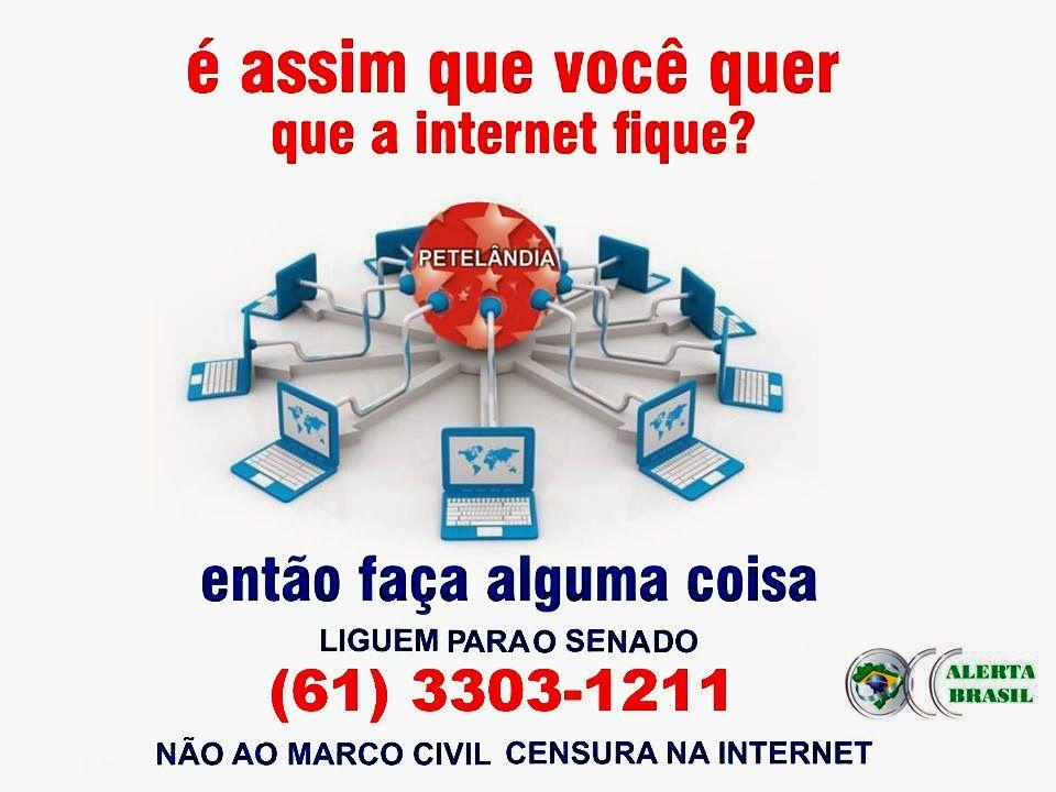 CONSPIRATIO 3: NÃO AO MARCO CIVIL DA INTERNET - LINKS (Você quer um Brasil comunista? Ainda é tempo!)