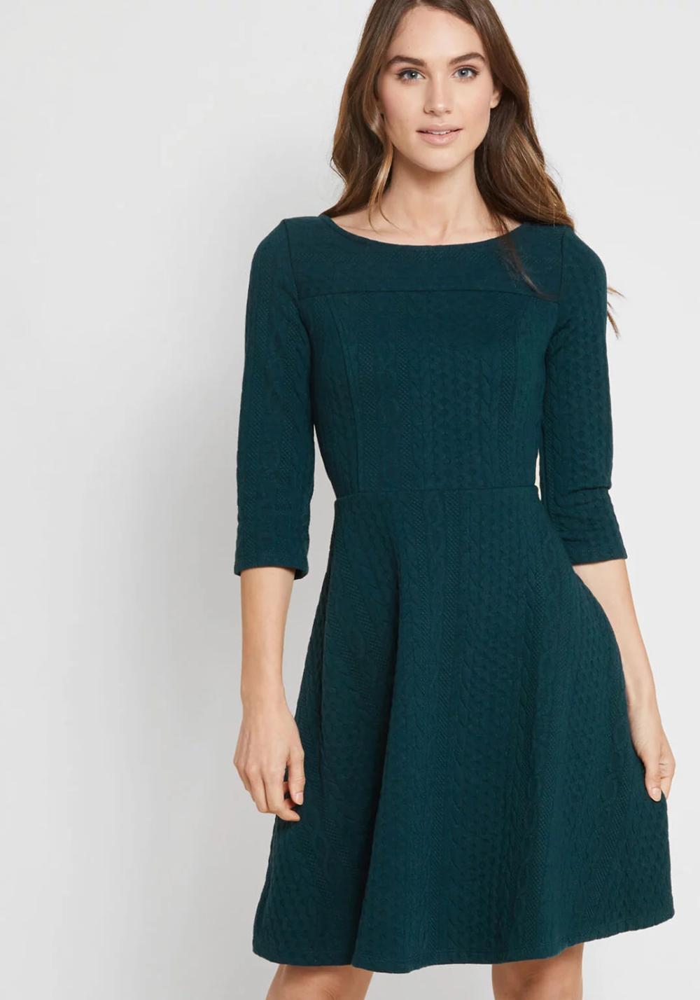 50++ 34 sleeve dress ideas