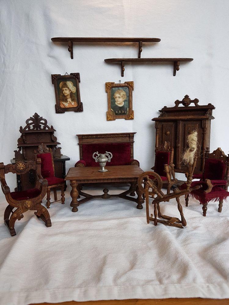 50er Jahre Bodo Hennig Wohnzimmermöbel Puppenmöbel Puppenstube Puppenhaus Kaufe Jetzt Puppenstubenzubehör
