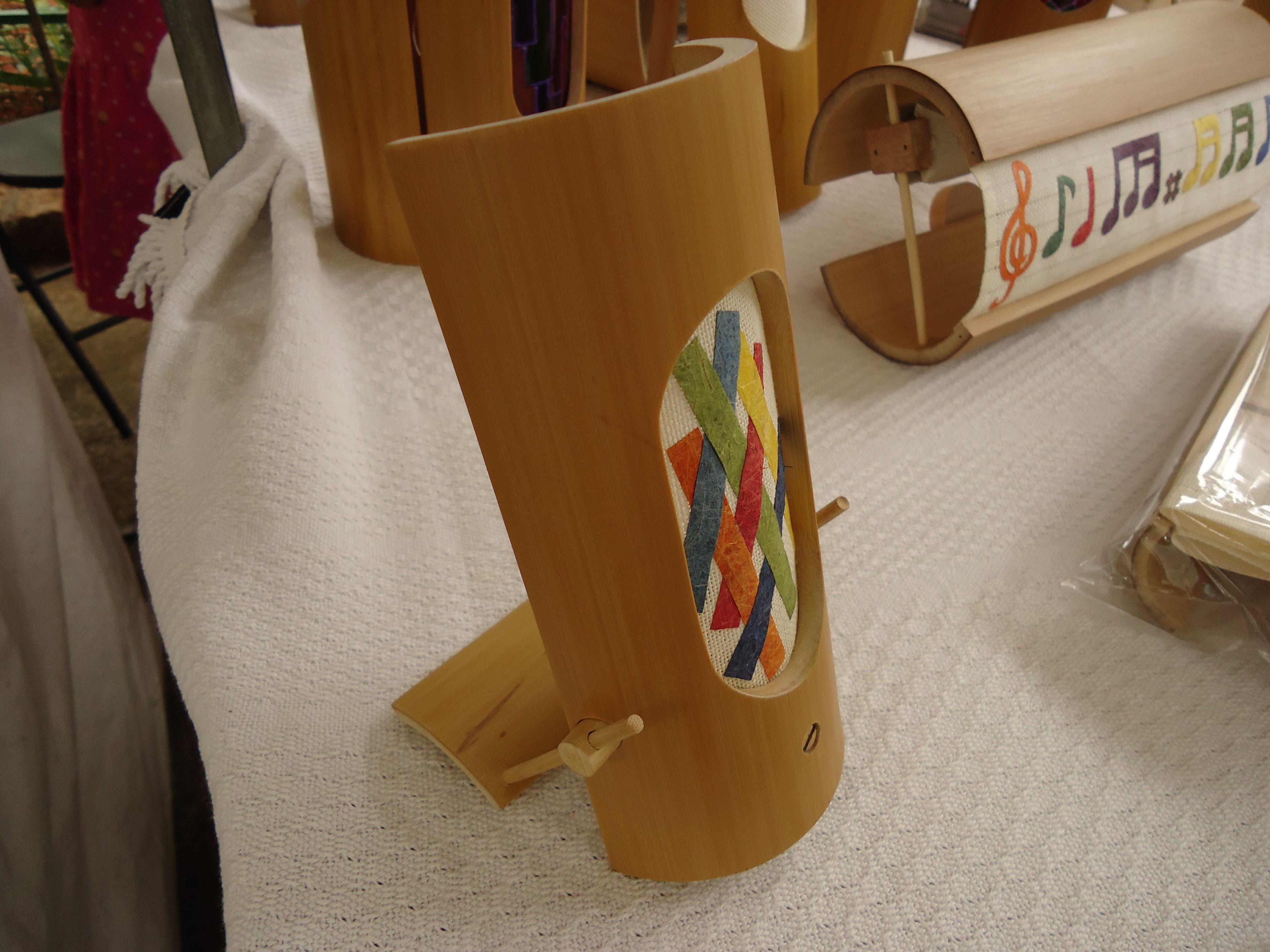 Artesanato Em Florianopolis Sc ~ Luminária MSL01 artesanal em bambu, com encaixes, canhamo e papel fibra banana Criaç u00e3o de