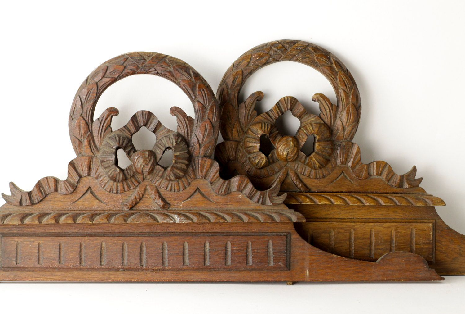 Antique Twin Bed Headboards Vintage His And Hers Bed Head French Carved Wood Twin Bed Headboard Headboards For Beds Hand Carved Headboard
