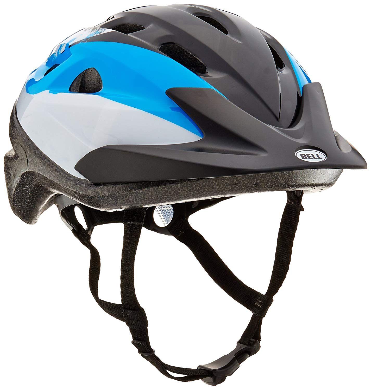 Bell Sports 7063287 Boys Richter Bicyle Helmet Blue Black Silver