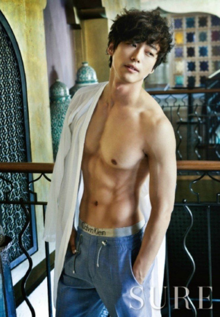 Korean male topless — pic 13