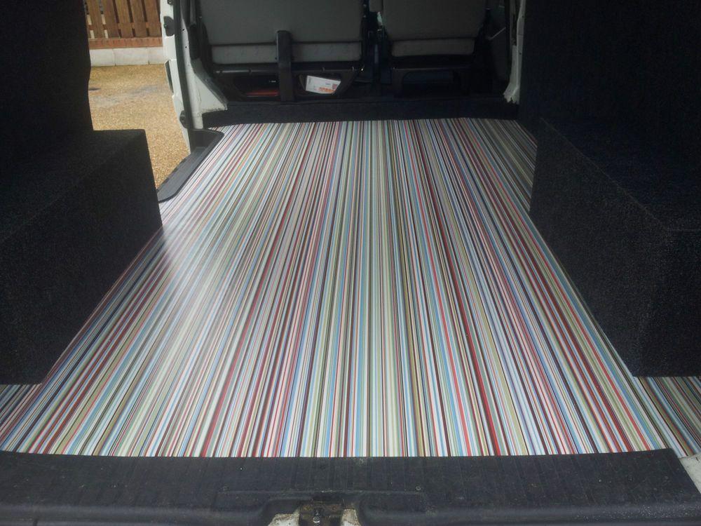 Candy Stripe Vinyl Flooring Vw Camper Van Bay Split