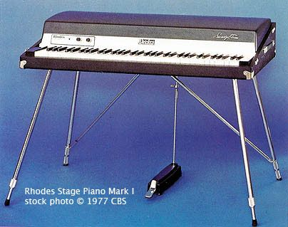 Rhodes Mark 1 Stage Piano Piano Rhodes Marks