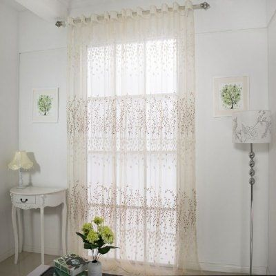 Semi Transparent Window Curtain Sale Price Reviews Curtains