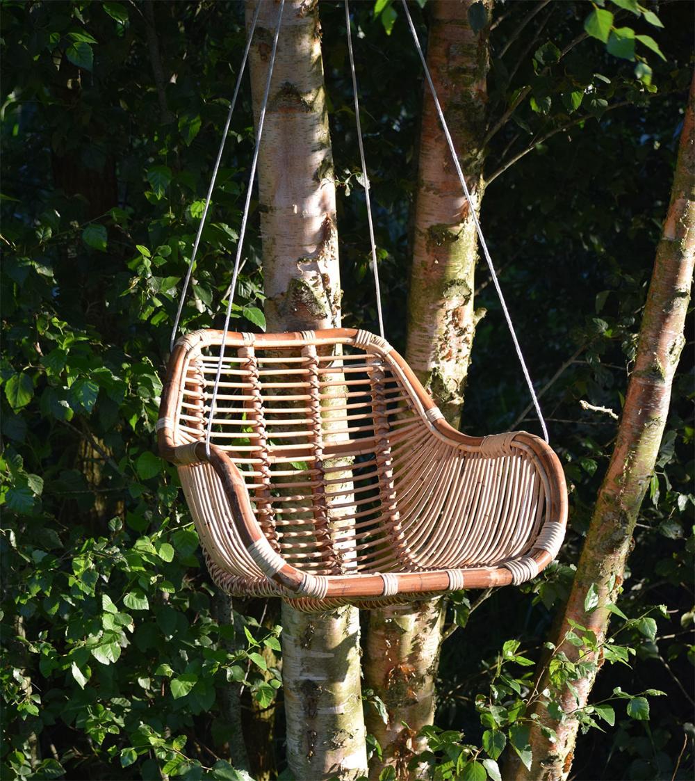 Hangstoel Bruin Egg.Rotan Hangstoel Fly Naturel 66x65xh49 Cm In 2020 Outdoor Decor