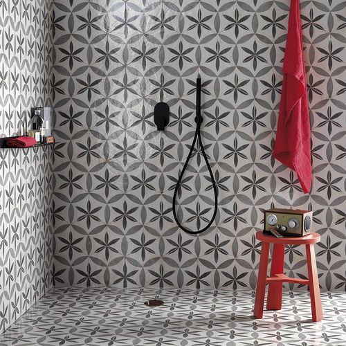 Triangle Pattern Floor Tiles