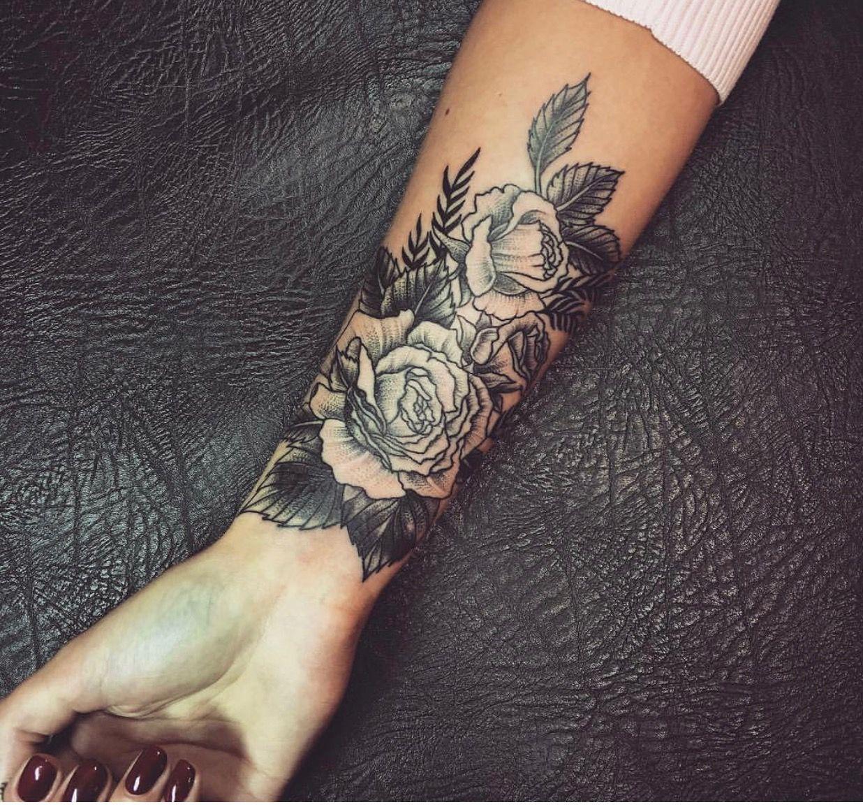 Tatty Tat ️ image by Samantha Johnson Flower wrist