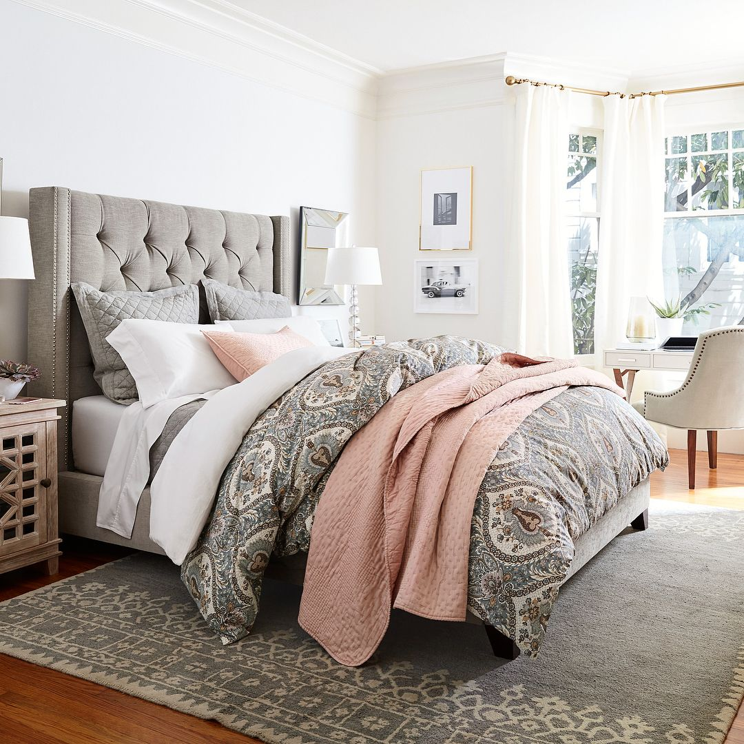 15 5k Likes 100 Comments Pottery Barn Potterybarn On Instagram The Pottery Barn Design Crew Is He Home Bedroom Inspirations Pottery Barn Bedroom Master