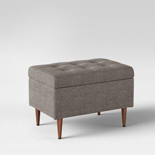 Fine Project 62 Lemoor Mid Century Ottoman With Storage Project Spiritservingveterans Wood Chair Design Ideas Spiritservingveteransorg