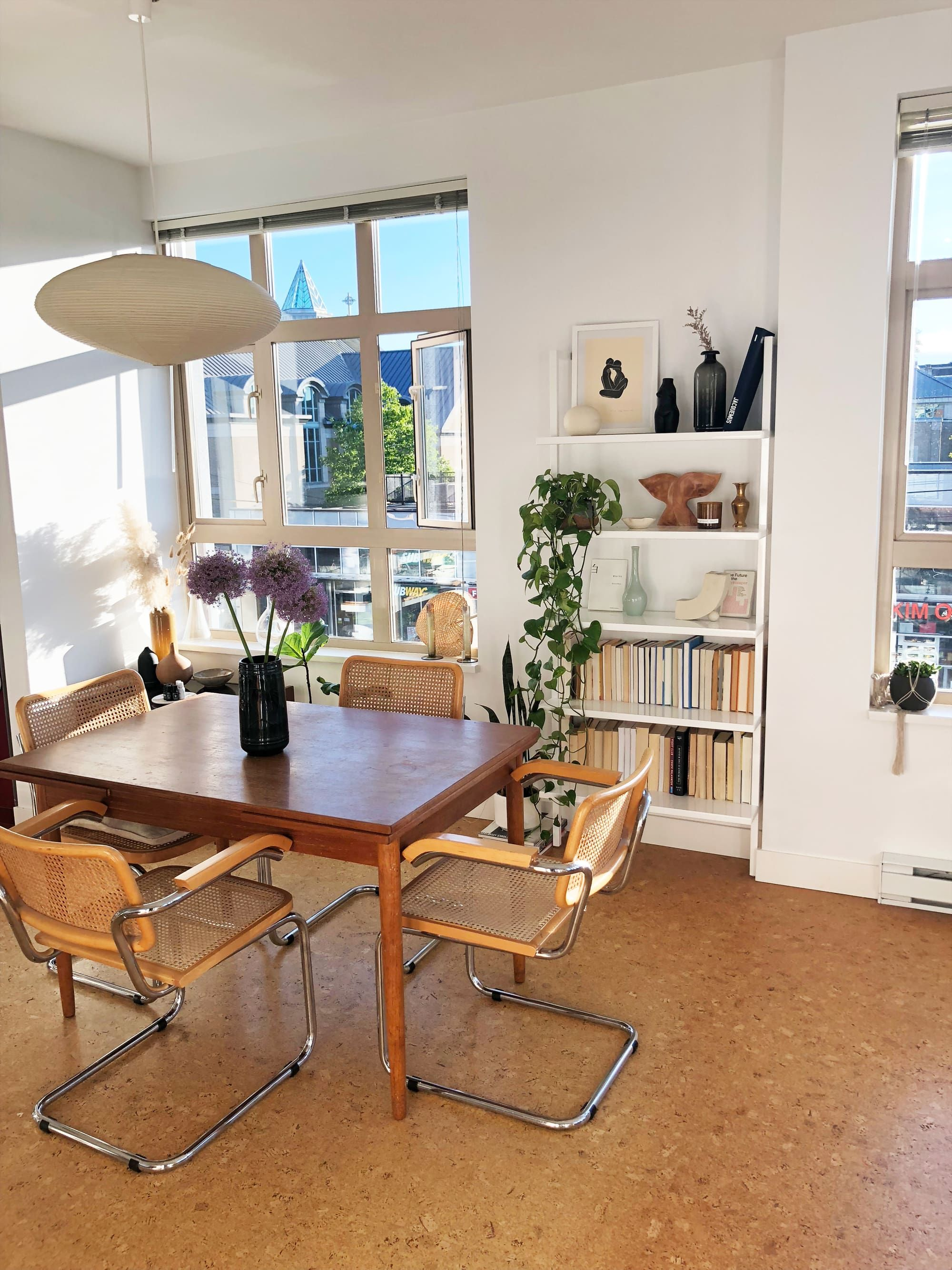 See Inside The Home Of Wolf Circus Founder House Interior Home Teak Dining Table