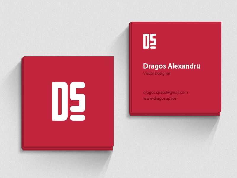 Square Business Card Mockup Download In Verbindung Mit