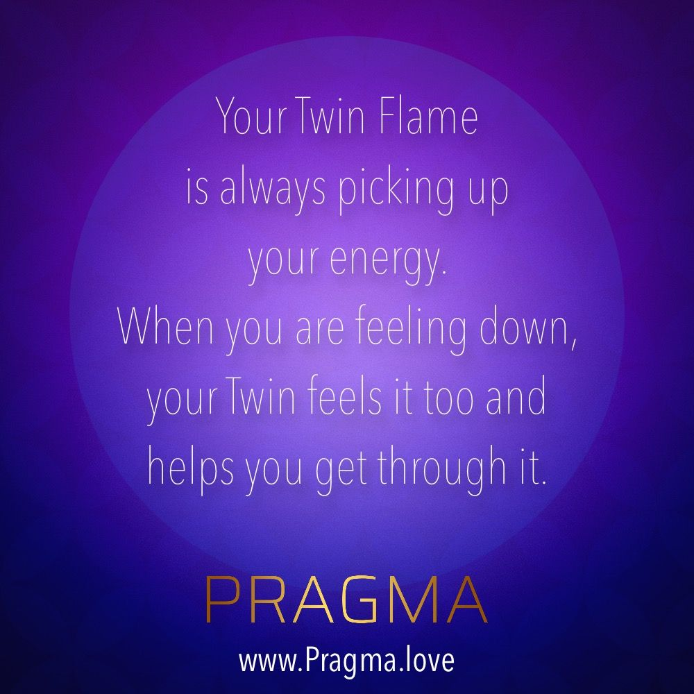 Your Twin Flame is always picking up your energy  When you are