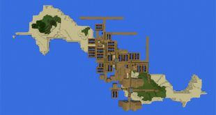 -1060246543: Double Island Village for Minecraft PE