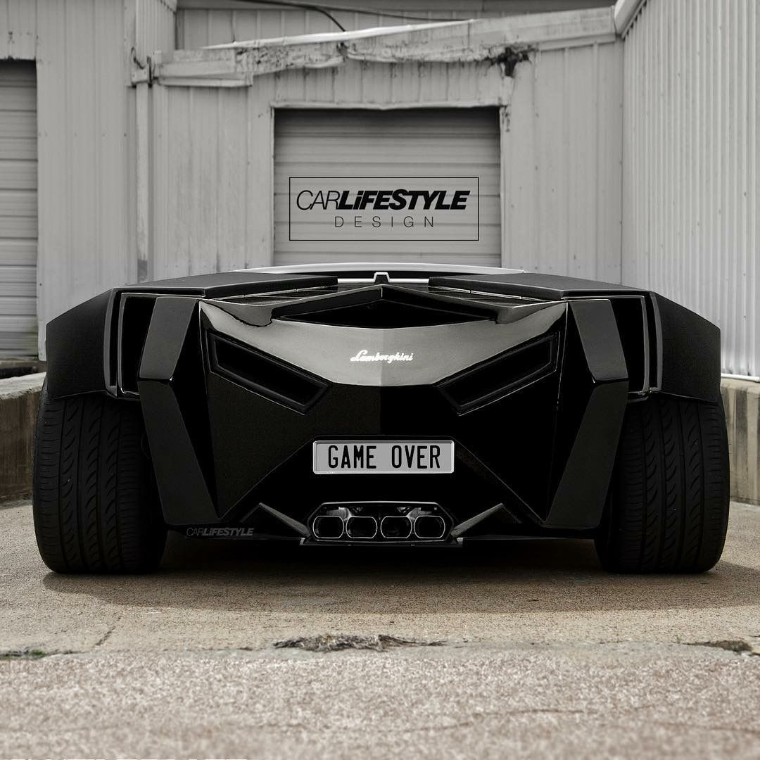 #Lamborghini #Concept #Game_Over