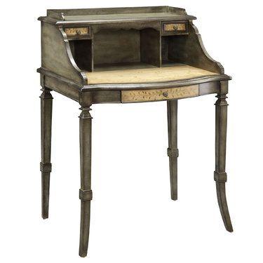 Mariellen Handpainted Wooden Writing Desk