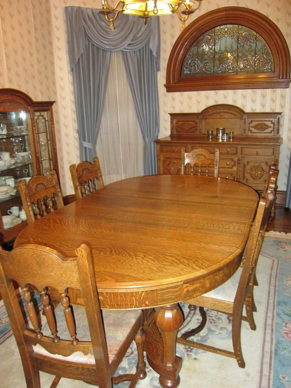Gorgeous antique dining suite for sale in Ohio! - Gorgeous Antique Dining Suite For Sale In Ohio!! Furniture