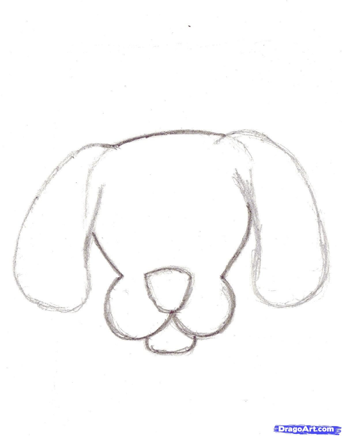 Step 5 How To Draw Cartoon Dogs