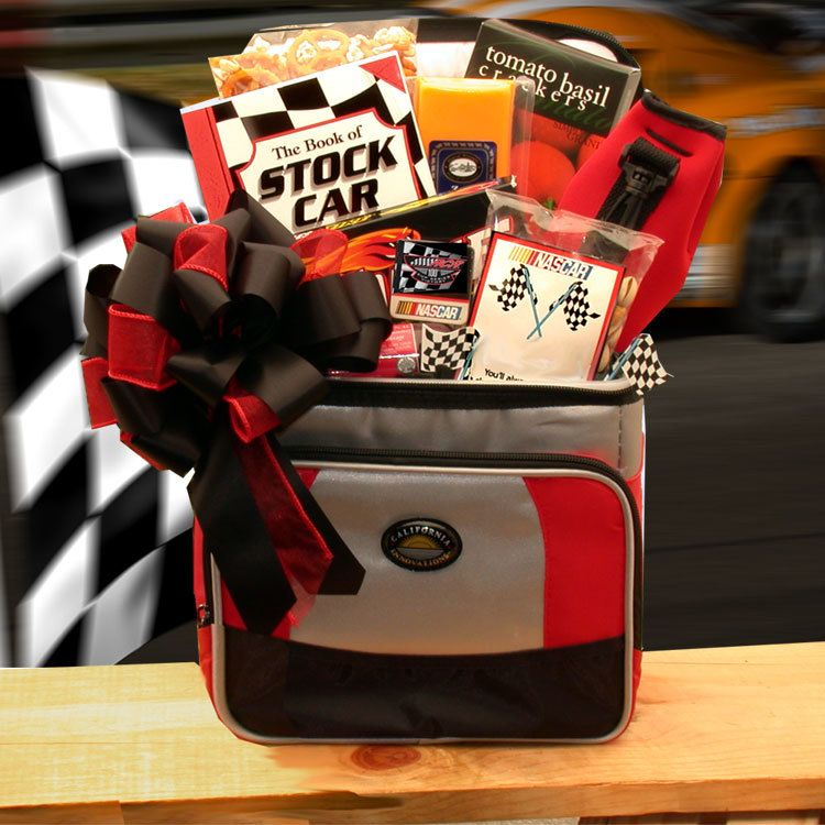 And the race is on nascar lovers gift chest medium