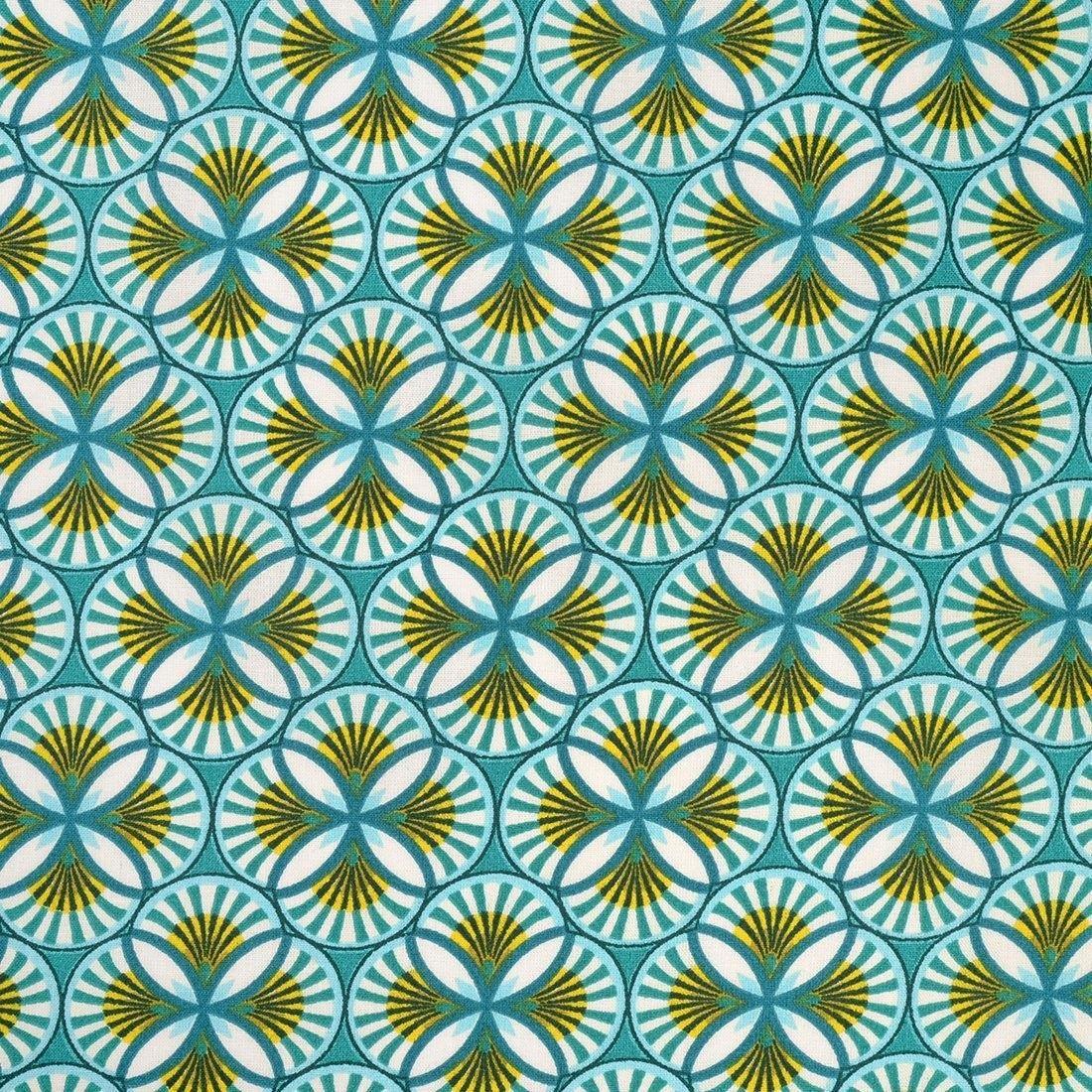 tissu coton motifs geometriques wax