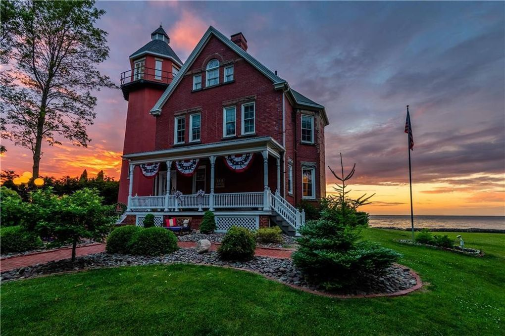 c.1895 Working Lighthouse For Sale w/Furnishings and