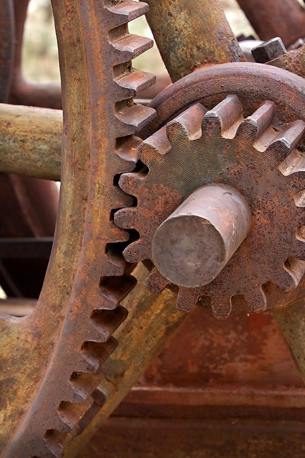 Rusted gears