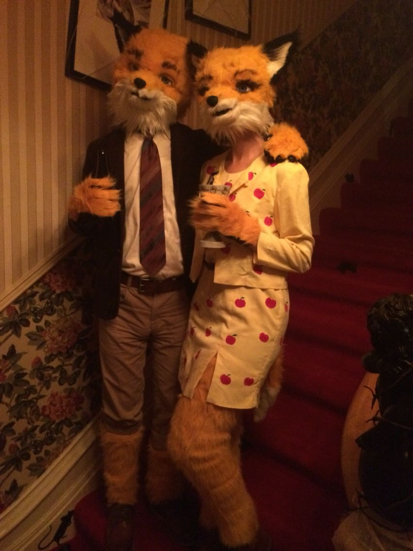Fantastic Mr Fox Home Made Halloween Costume Fantastic Mr Fox Costume Fantastic Mr Fox Fox Costume