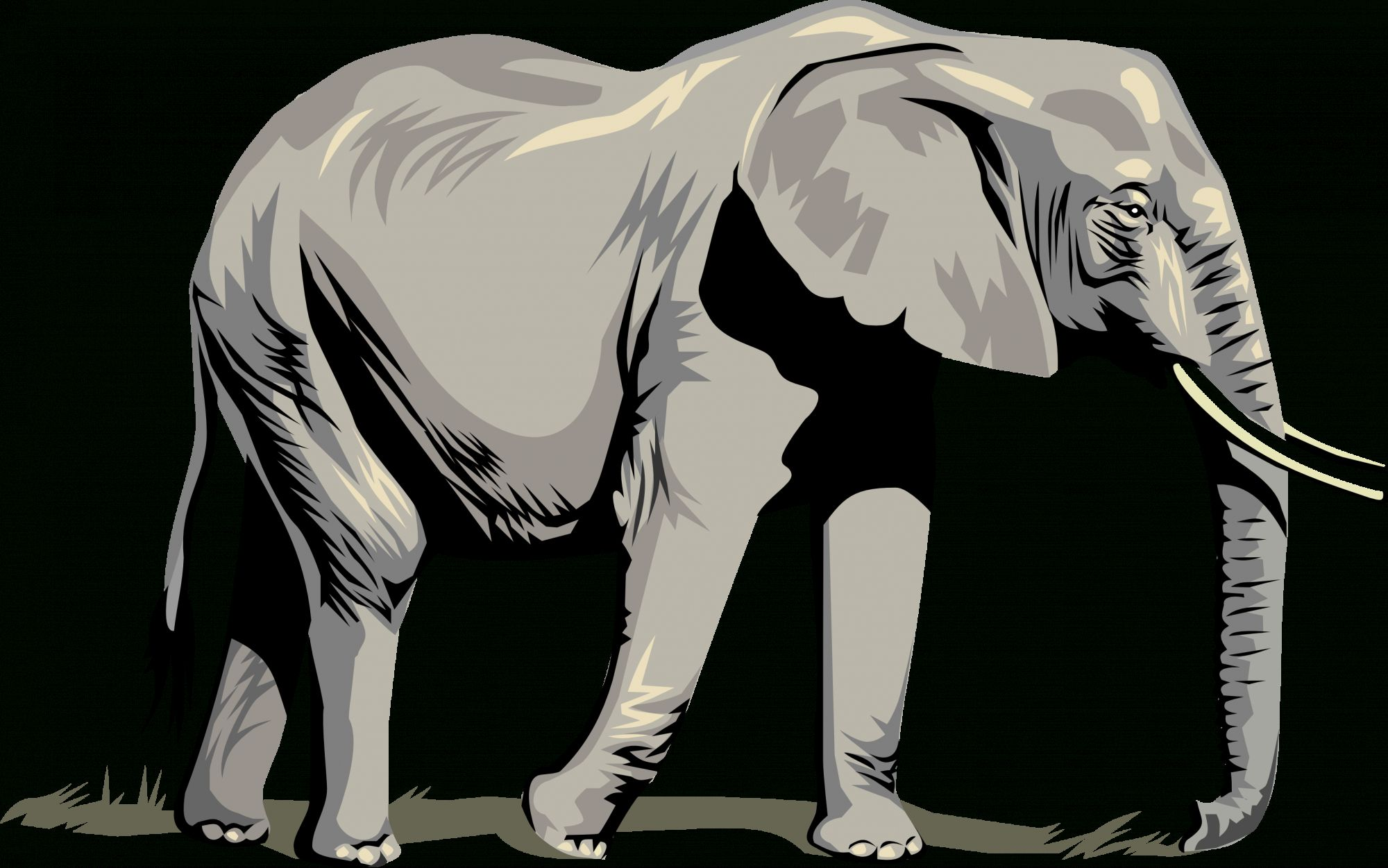 18 Elephant Vector Png Elephant Icon Elephant Silhouette Elephant Logo