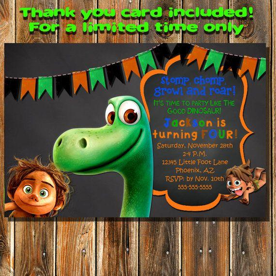 The Good Dinosaur Invitation The Good Dinosaur By