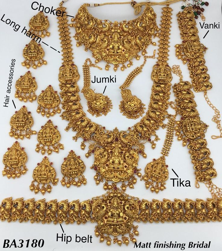 Pin by Poonam Vekhande on Bridal jewelry Bridal gold