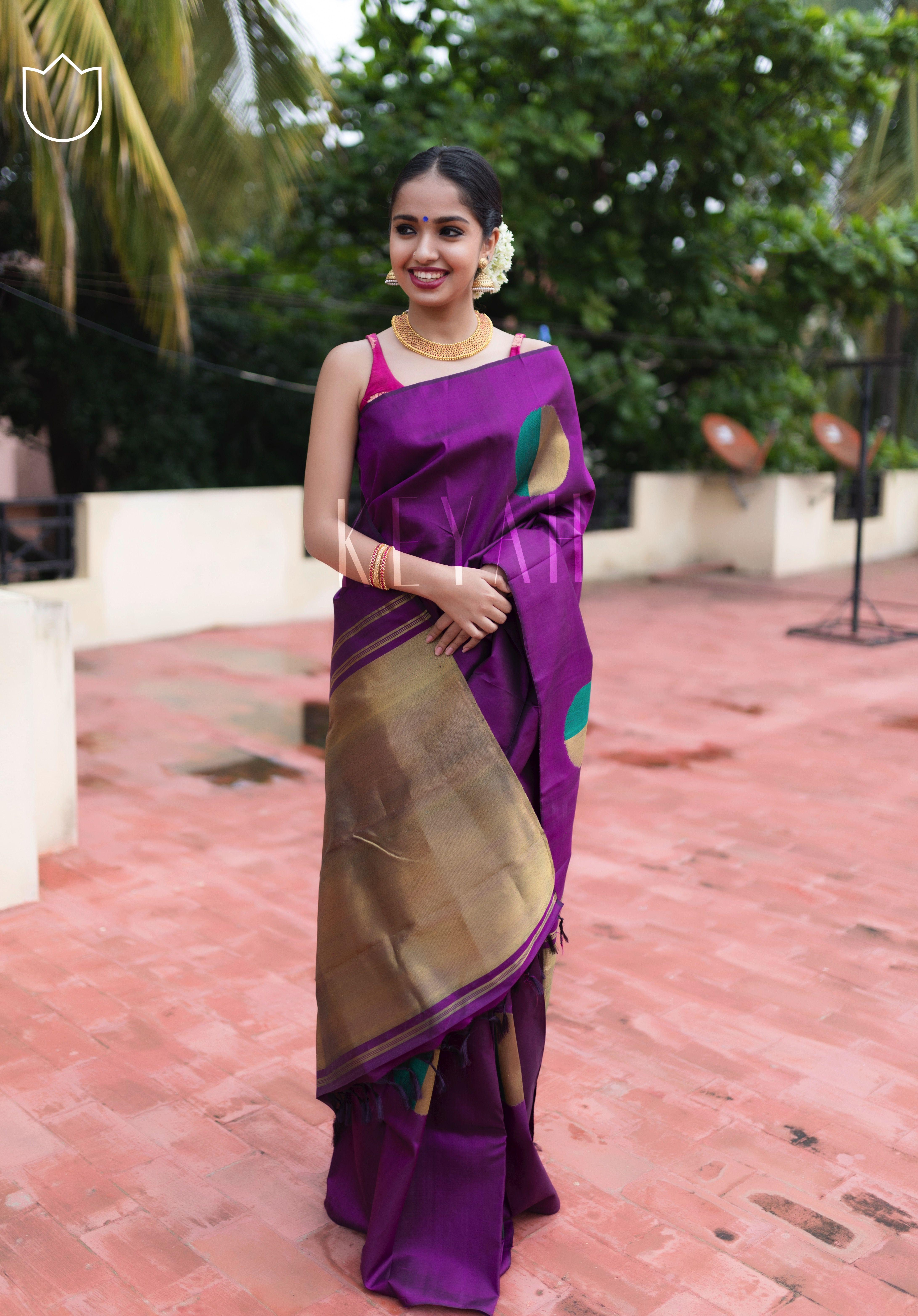de06ec16da88ef Mullapoo and Kanjeevaram silk : a timeless classic #kanjeevaram #silksaree  #wedding #indianwedding #sareee