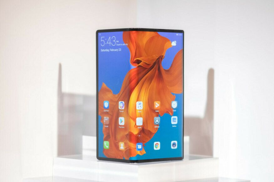 Huawei Mate X Folding Smartphone Confirmed To Launch In September Huawei Smartphone Cellular Phone