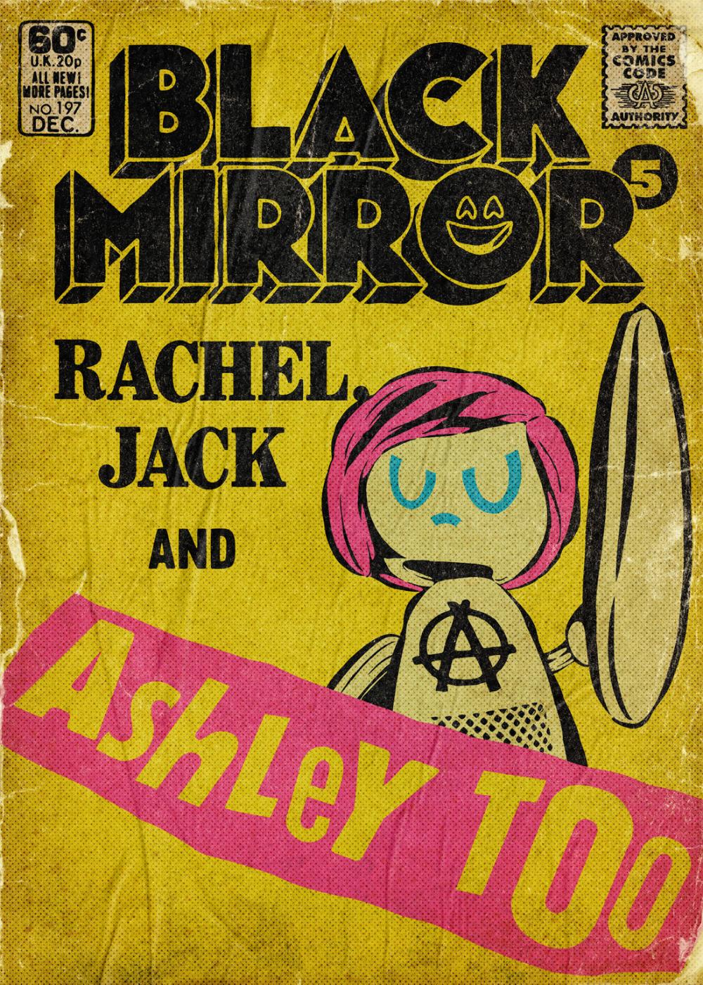 Black Mirror Season 5 + Bandersnatch The Comic Books on