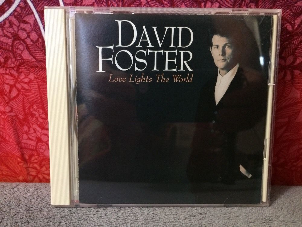 VERY RARE Love Lights The World David Foster CD 1994 east west Japan AMCY-667