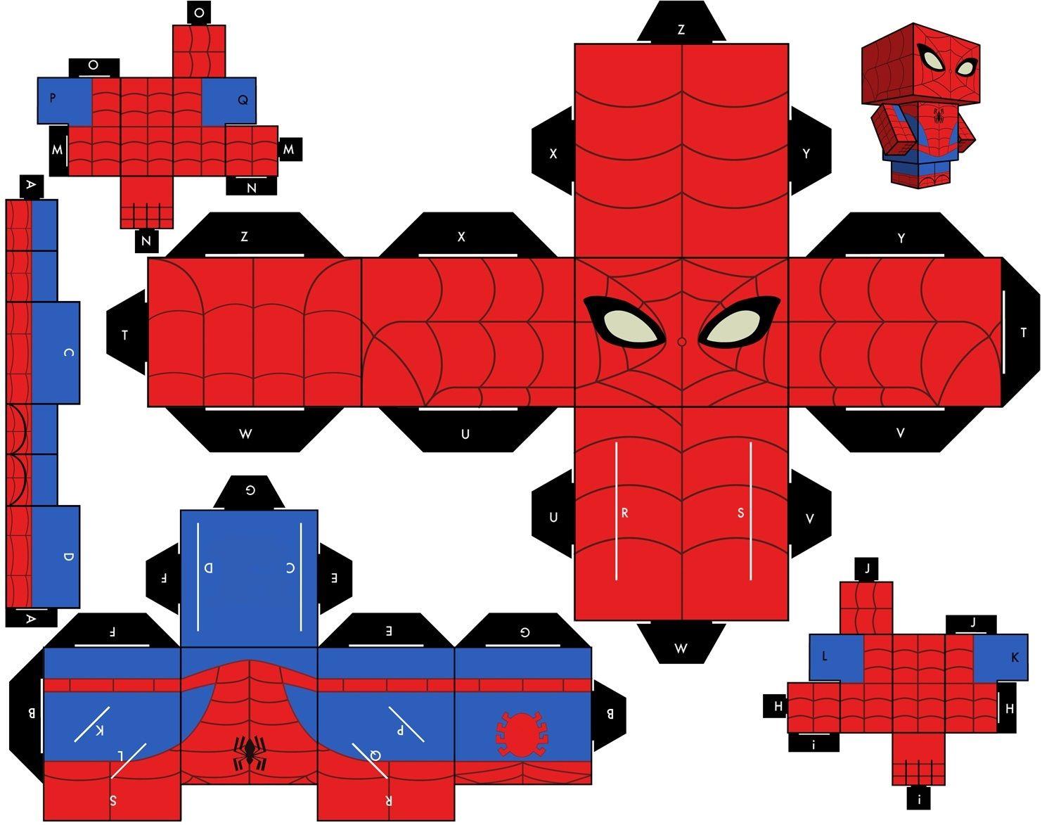 Bonecos de Papel: Variados   cubeecraft   Pinterest   Paper toys ...