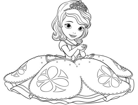 La Princesa Sofia | Princesa sofía, La princesa sofia y Pintar dibujos