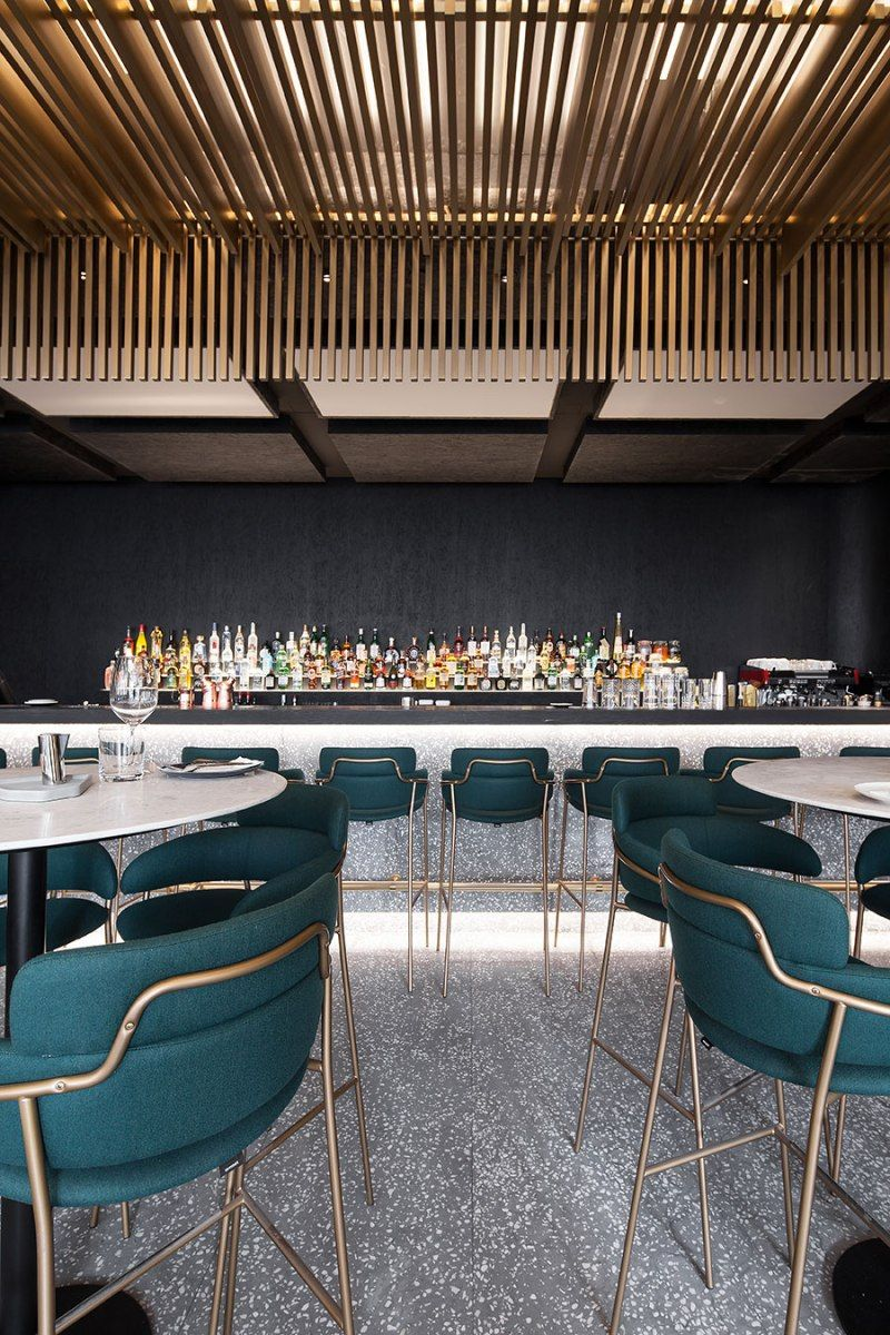 Gaga Chef Sophisticated Interior By Coordination Asia Hotel Bar Design Modern Home Bar Designs Hotel Decor