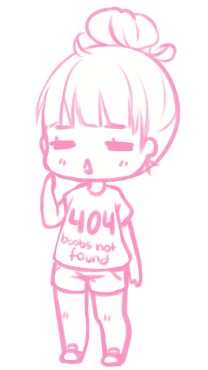 Meep By Hyan Doodles Easy Chibi Drawings Anime Art Beautiful Chibi Girl Drawings