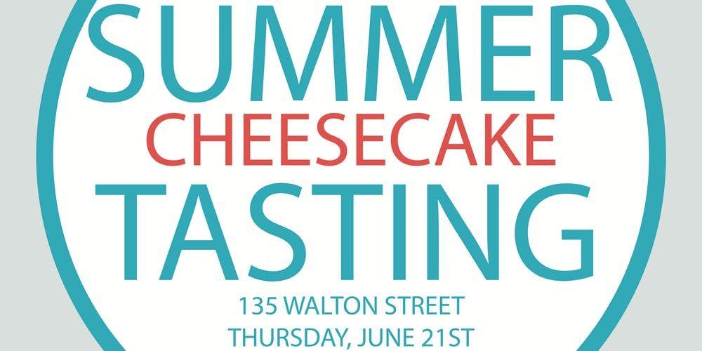Eventbrite Izzy S Cheesecake Presents Izzy S Summer Cheesecake