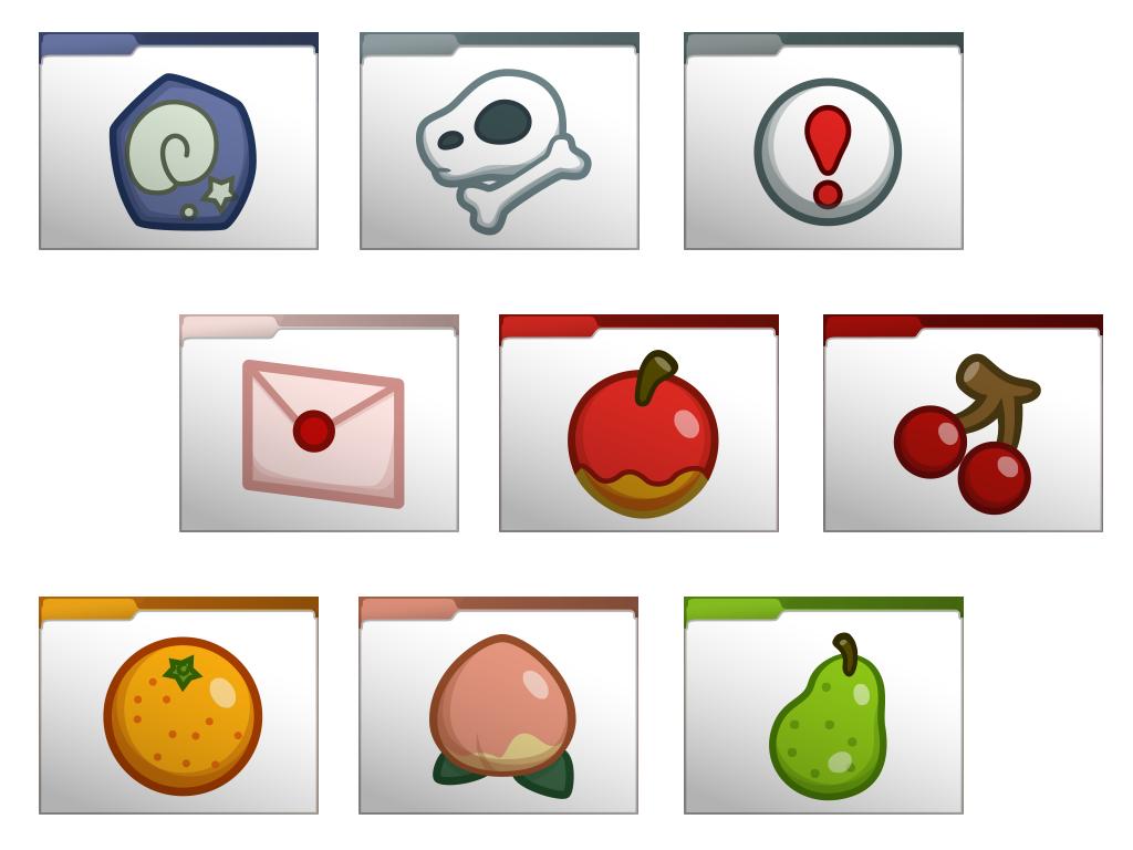 Animal Crossing Set 1 Computer Folder Icons by soraxcloud