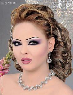 Arabic Makeup And Hairstyles - Mugeek Vidalondon | Arabic hair ...