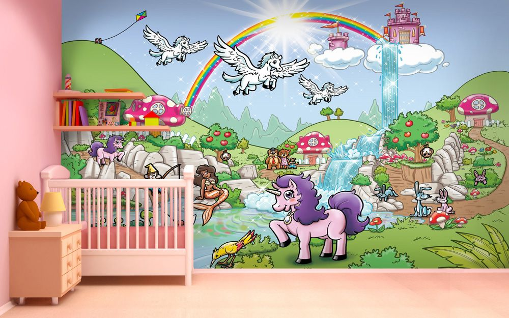 Best Rainbow Valley Fantasy Design With Unicorn Princess 400 x 300