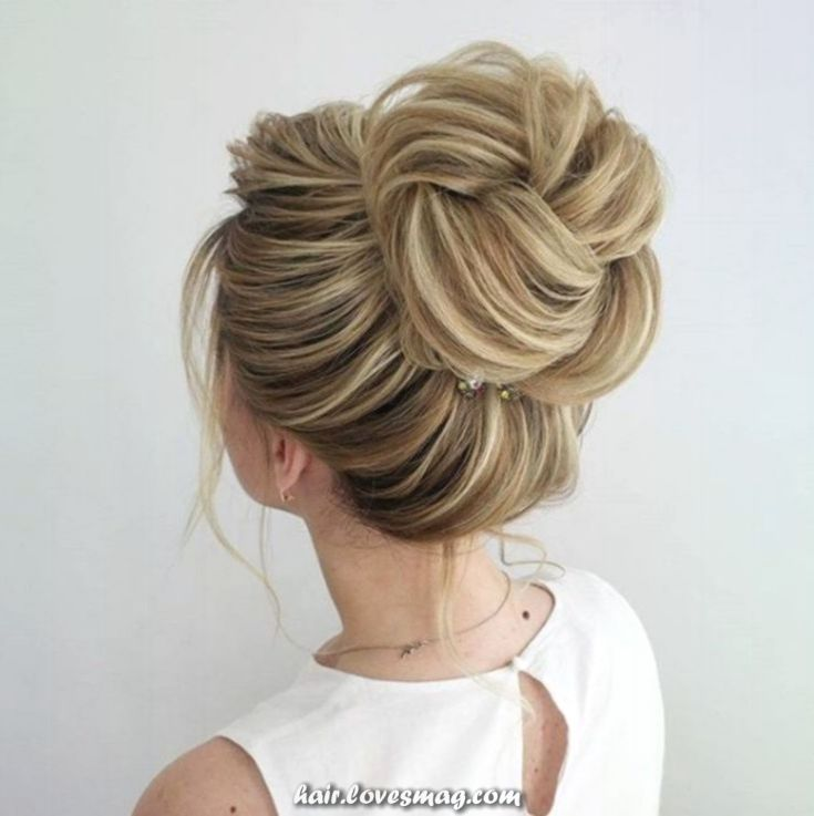 New Hairstyle For Wedding Ceremony: Wedding Ceremony Invitation Bun I Concepts Visitor