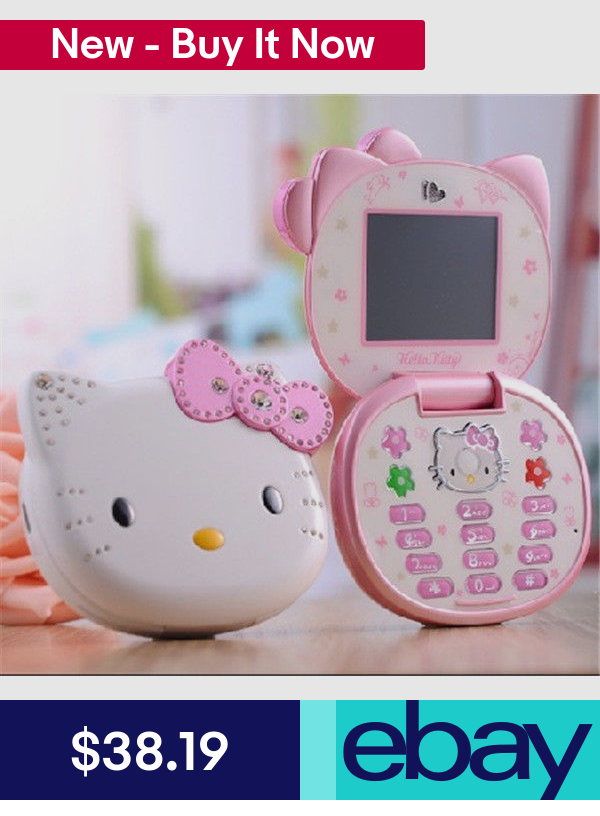 Cell Phones Cell Phones Accessories T Mobile Phones Hello Kitty Flip Mobile Phones