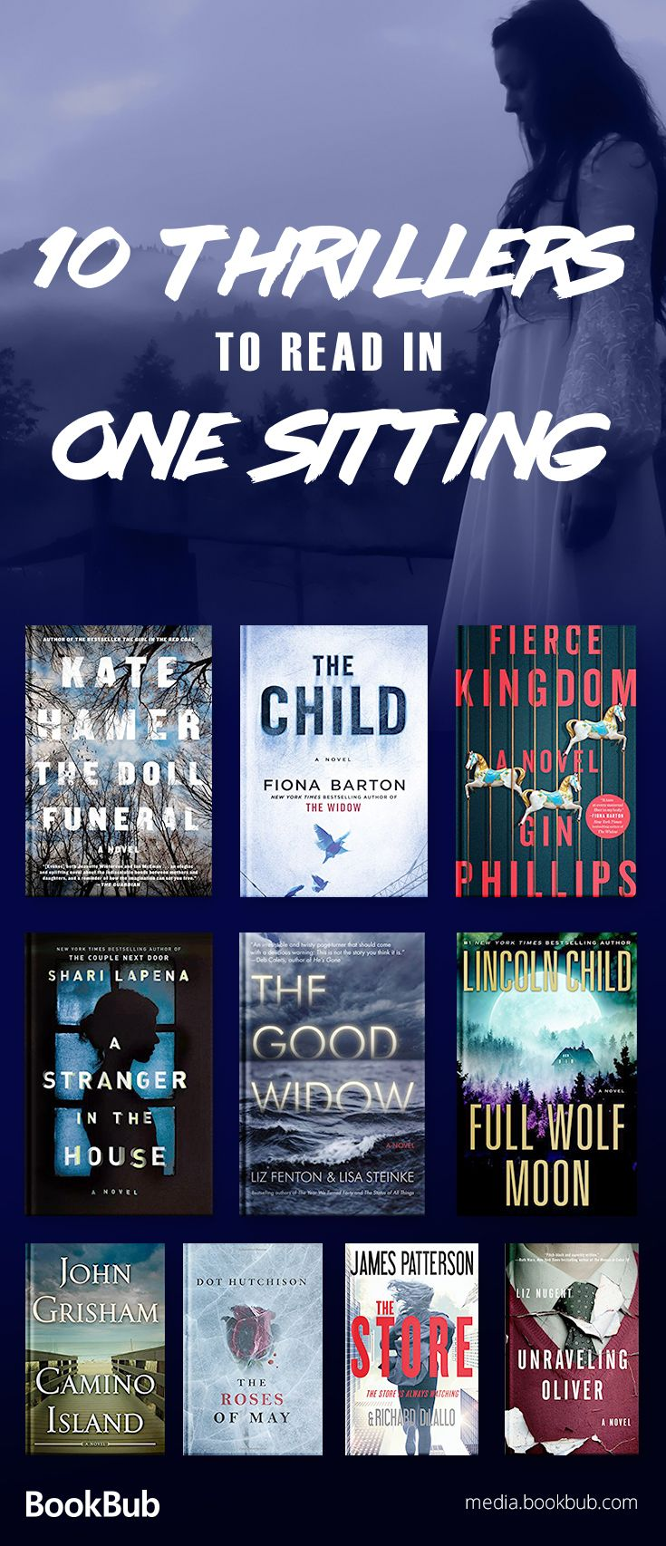 10 Gripping Thrillers to Read in One Sitting