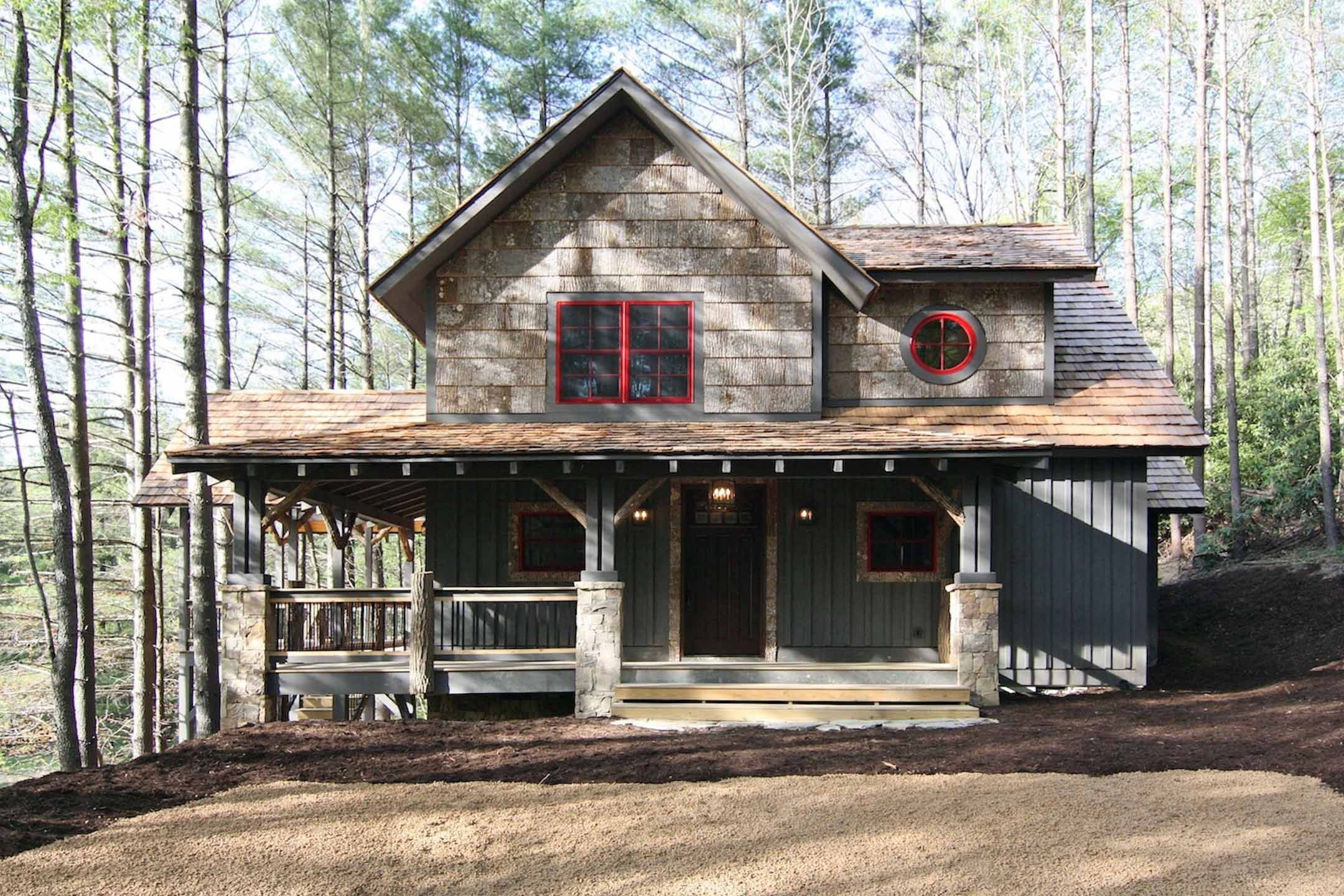 Plan 18733CK: Wrap-Around Porch | Cottage house plans, Small cottage house  plans, Small cottage homes