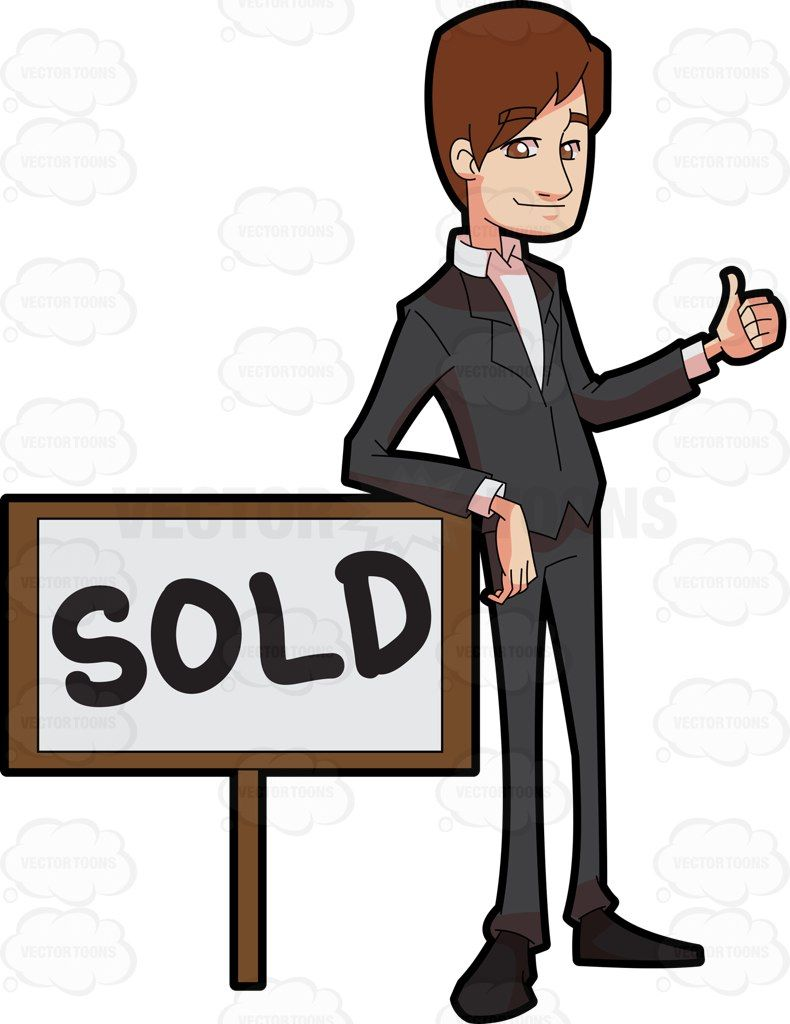 A Male Real Estate Broker Closing A Sale Deal Of A Property Real Estate Broker Real Estate Male