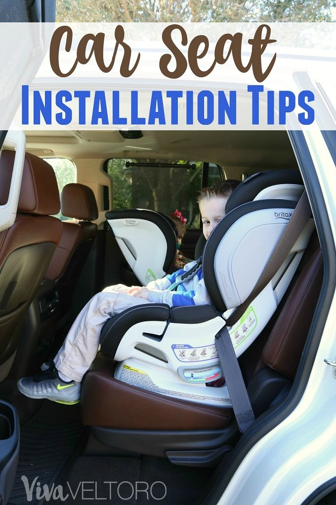 Car Seat Installation Tips | Car seats, Britax advocate and Babies